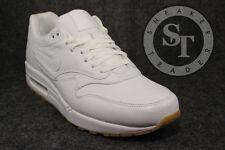 NIKE AIR MAX 1 ONE LEATHER PA 705007-111 OSTRICH WHITE GUM LIGHT BROWN SZ: 13