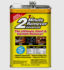 Sunnyside 2 MINUTE REMOVER Advanced Gel Removes Paint & Varnish Epoxy 1 GALLON!!