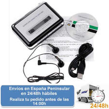 Cassette usb audio convertible de cintas de musica a mp3 (Envio express)