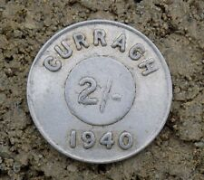 Ireland Genuine 1940 Curragh Prisoner of War Camp Coin/Token IRA,2-