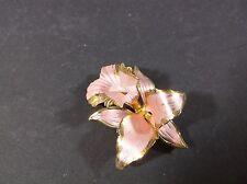 Cerrito Original pink iris pin 1982