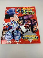 Walt Disney's World On Ice Program 1988 Mickey Mouse Diamond Jubilee Special Ed