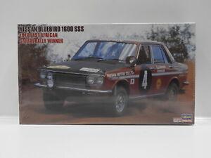 1:24 Nissan Bluebird 1600 SSS - 1970 East African Safari Rally Winner Hasegawa 2