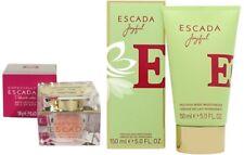 Escada Joyfull Bath Crystals & 150ml Body Moisturiser Lotion Cream Woman