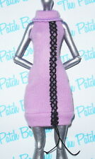 MONSTER HIGH ABBEY BOMINABLE I HEART FASHION DOLL OUTFIT REPLACEMENT PINK DRESS