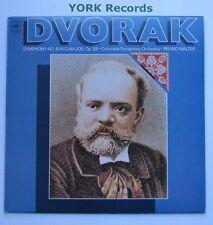 61274 - DVORAK - Symphony No 8 WALTER Columbia Symphony Orchestra - Ex LP Record