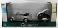 Voitures, camions et fourgons miniatures verts Cararama VW