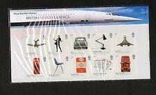 Gb 2009 presentación Pack británicos clásicos del diseño de sellos