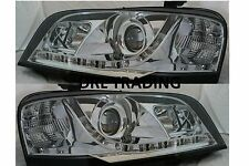 Ford Territory SX SY 04 05 07 08 DRL Style New LED Chrome Projector Headlights