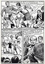 FINALE DE COUPE FOOTBALL (ROBERT HUGUES) PLANCHE ORIGINALE PILAR SANTOS PAGE 33