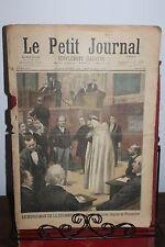 Petit journal illustré N°323 1897 Musulman de la chambre Dr Grenier Pontarlier