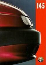 Alfa Romeo 145 1994-96 UK Market Sales Brochure 1.6 1.6L 1.7 16v