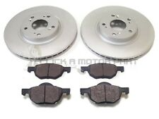 EBC FRONT GD DISCS GREENSTUFF PADS 280mm FOR HONDA ACCORD 2.0 SALOON CL7 2003-08