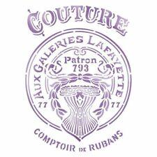 Stamperia Stencil G cm. 21x29.7 Couture*Scrapbook Tools