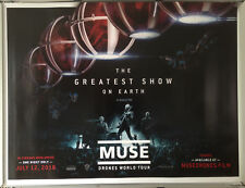 Cinema Poster: MUSE DRONES WORLD TOUR 2018 (Quad) July 12th Live Beamback
