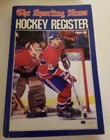 Sporting news Hockey Register 1989-90