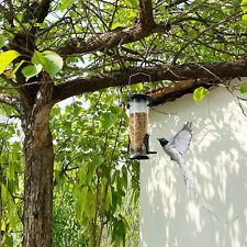 No-Mess Mangiatoia per Uccelli Pappagallo Distributore di Semi Automatico di