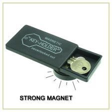 Magnetic Spare Key Holder Holders Extra Case Storage Hider Hide Container