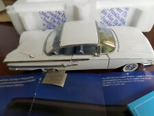 1960 CHEVROLET IMPALA 2 DR HARD TOP FRANKLIN MINT