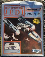 1984  MIRR-A-KITS Star Wars Return Of The Jedi X-Wing Fighter Model Kit NOS