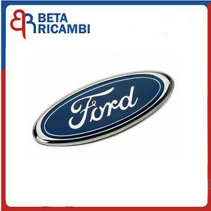 Fregio Logo Stemma Ford Anteriore Fiesta 08>12 Focus 11>15 Ka 175X70mm ORIGINALE