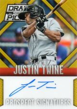 JUSTIN TWINE 2014 PANINI DRAFT PICKS PROSPECT SIGNATURE AUTOGRAPHED RC #ed 8/10