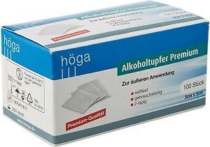 HÖGA - Alkoholtupfer Premium - Alcohol Pads - neu+sof.lieferbar