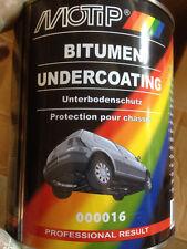 2600 gramm MOTIP PRESTO Unterbodenschutz Bitumen  Schwarz Auto streichbar