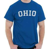 Ohio Athletic Vacation State OH Pride Gift Short Sleeve T-Shirt Tees Tshirts