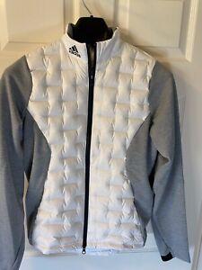 Adidas Frostguard Jacket Mens XS White NWT $200 DZ8547