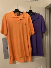 RALPH LAUREN POLO SHIRTS XL EXCELLENT!! SET OF 2