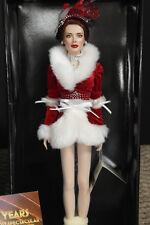 "Franklin Mint Radio City Christmas Spectacular Rockettes Vinyl Doll 16"" Coa"