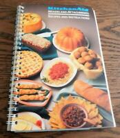KitchenAid Mixers and Attachments Recipes and Instructions Book 1992 Edition