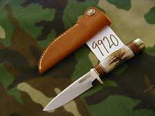 "Randall Knife Knives Mini #25-3 1/2"", 1St Miniature Made,Ss,#1111,Stag,Bb #9920"