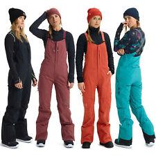 Burton Ak Gore-Tex Kimmy Bib Pantaloni GTX Damen-Snowboardhose da Sci Salopette
