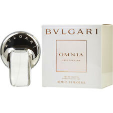 OMNIA CRYSTALLINE 65ml EDT SPRAY FOR WOMEN BY BVLGARI -------------- NEW PERFUME