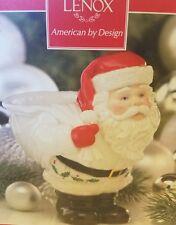 Lenox Santa Christmas Candy Bowl Dish All the Good Boys and Girls