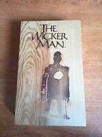 The wicker man box in legno numerato Christopher Lee