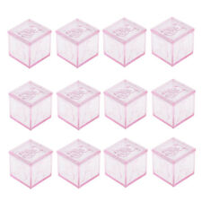 12pcs Wedding Favour Boxes Kids Birthday Party Gift Candy Sweets Chocolate Box