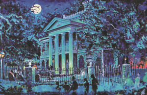 Haunted Mansion Disneyland Exterior Concept 11x17 Poster Print