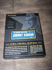 The Johnny Carson Ultimate Collection in excellent shape Free Shipping Vol 1-3