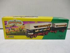 Corgi Classics The Showman's Range ERF Dodgem Truck and Box Trailer Set 8/25