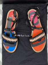 BNWB Designer Paul Smith Womens Shoes Sandals Eunice In Black Rrp £290 UK Size 4