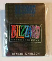 Blizzard Exclusive Rainbow Diversity Pride Pin Blizzcon 2019 SDCC 2018🌈