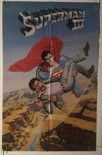 Superman III Original Movie Vintage Poster Pin-up 1982 Warner Bros. 80's DC