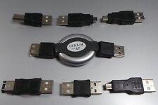 USB Set 1m enrollable CABLE + DIV. USB / FW Adaptador #J608