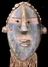 Antiguo Tribal salampasu Fetiche Máscara --- Congo BN 14