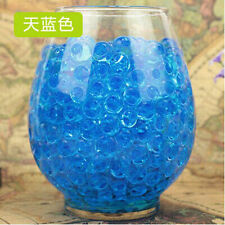 10Bags Wedding Decor Crystal Soil Water Beads Mud Grow Pearl shaped Magic Balls
