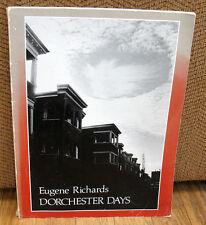 SIGNED Eugene Richards Dorchester Days Original 1978 Many Voices Massachusetts