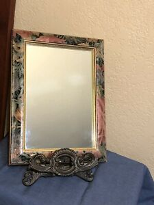The Uttermost Company Rocky Mount, Virginia 899 PSR 9X12 floral framed mirror